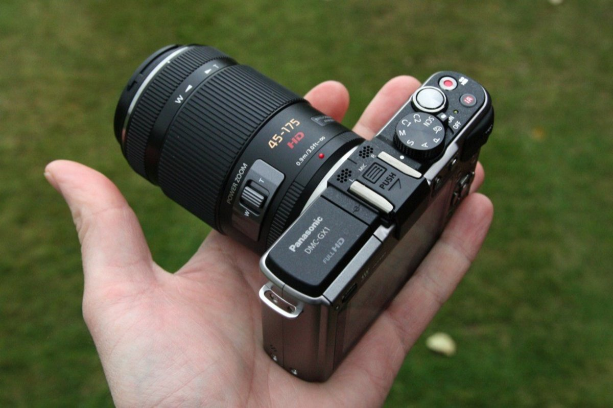 Image result for lumix 45-175 in hand
