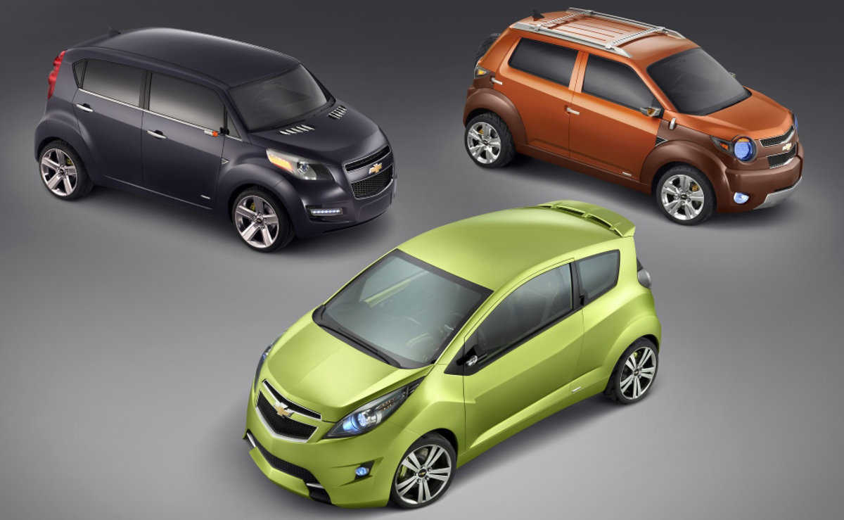 All Chevy chevy concepts : Chevy shows off three new concepts - Pocket-lint