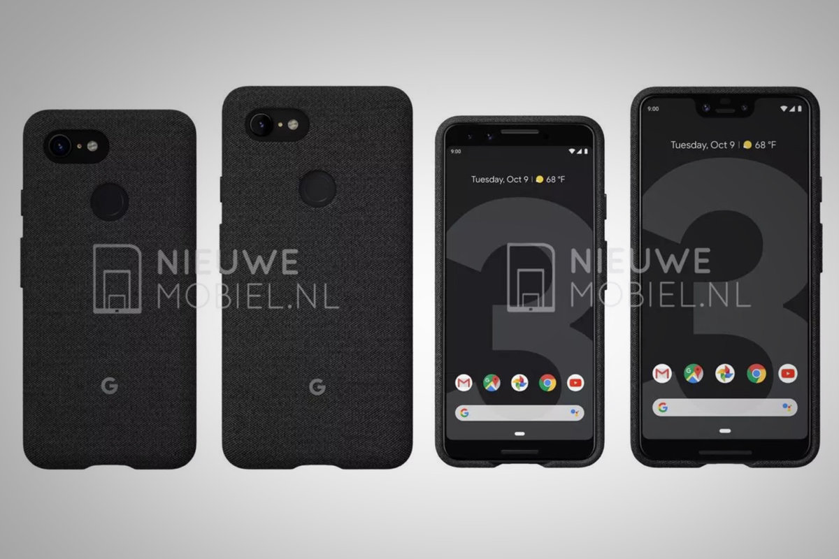Compare Phones Side By Side >> See Google Pixel 3 And Pixel 3xl Side By Side In New Leak