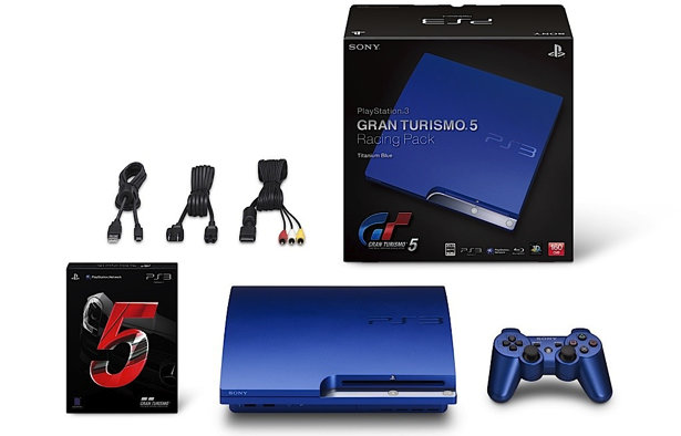 gran turismo 5 uk release date confirmed japan gets blue ps3 bundle pocket lint. Black Bedroom Furniture Sets. Home Design Ideas