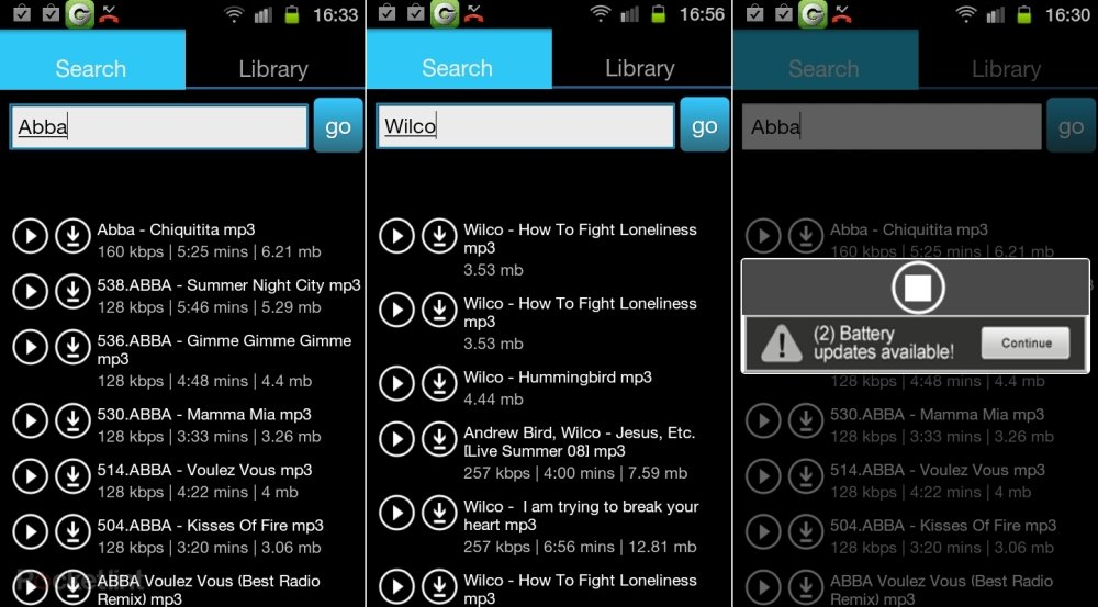 apps to download albums on android