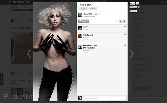 Little Monsters, Lady Gaga's social network open for ...