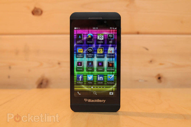 Retailers lowering BlackBerry Z10 prices less than a month afte