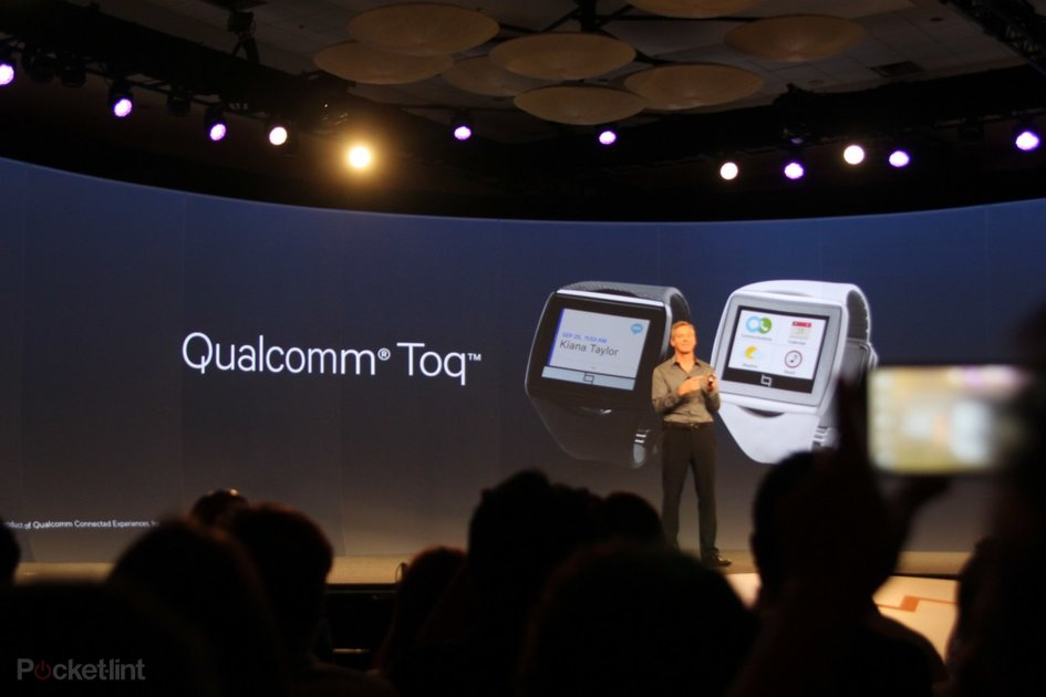 Qualcomm Toq: Mirasol wireless charging smartwatch takes on Samsung and Sony - Pocket-lint