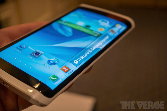 Samsung curved screen phone is coming in October - Pocket-lint