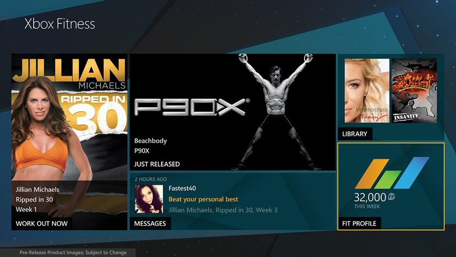 Xbox One will encourage you to get off your butt with Xbox Fitness app - Pocket-lint