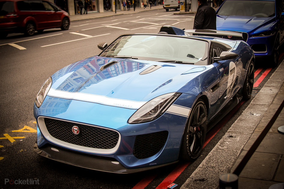 Jaguar Project 7 F-Type pictures and eyes-on - Pocket-lint