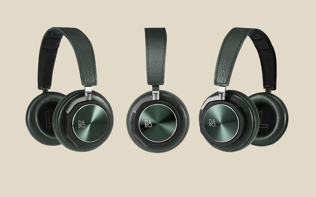 bang olufsen introduces special edition green beoplay h6 headphones pocket lint. Black Bedroom Furniture Sets. Home Design Ideas