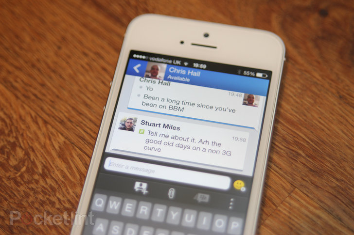 BBM for iOS and Android rakes in 10M downloads in one day - Pocket-lint