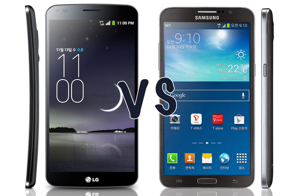 LG G Flex vs Samsung Galaxy Round: What's the difference? - Pocket-lint