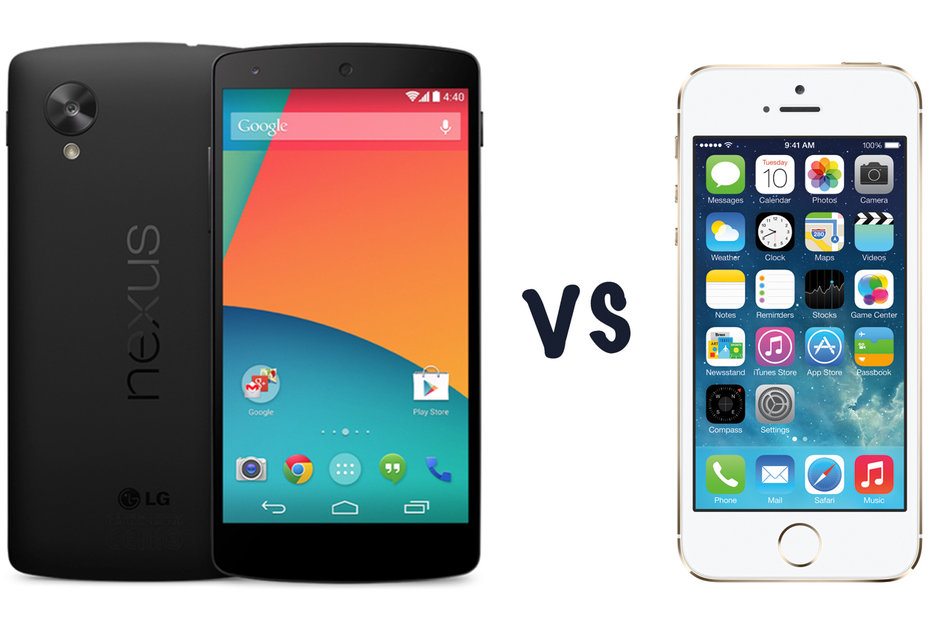 Google Nexus 5 vs iPhone 5S: What's the difference? - Pocket-lint