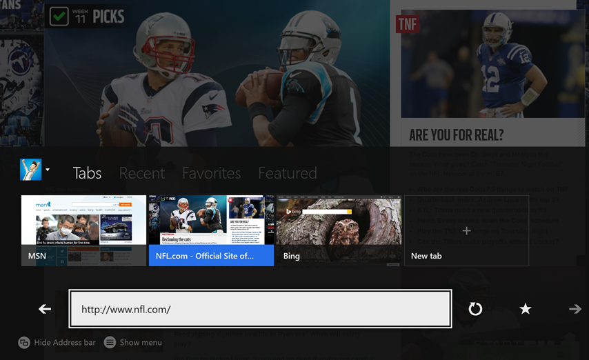 Microsoft details Xbox One Kinect gestures for Internet Explorer - Pocket-lint