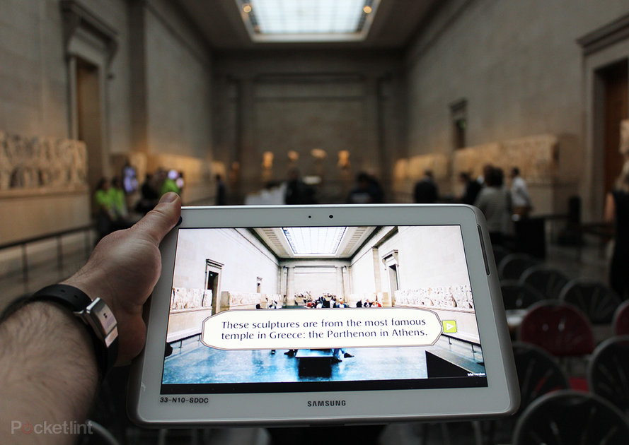 The British Museum and Samsung bring augmented reality to museum learning - Pocket-lint