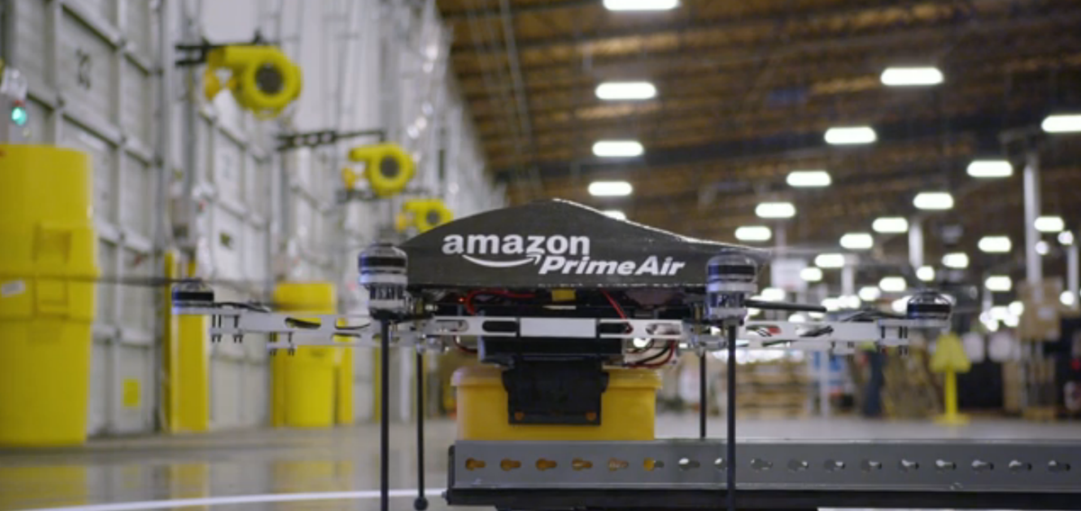 Amazon testing autonomous drones, can deliver packages in 30 minutes - Pocket-lint