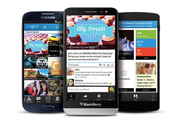 BBM 2.0 now available for iPhone and Android - Pocket-lint