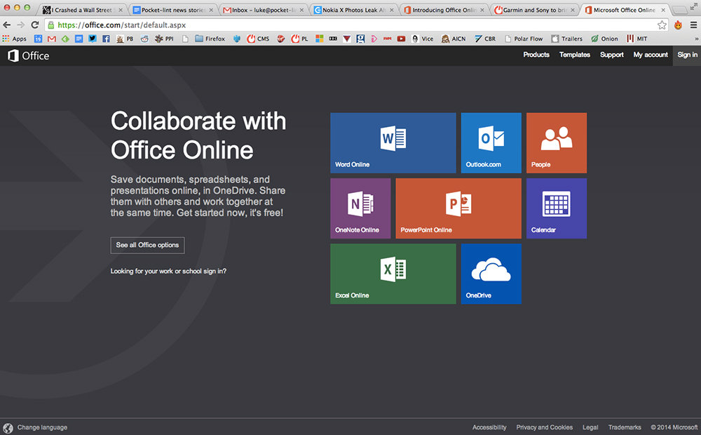 Microsoft announces Office Online, the new name for Word, Excel and the rest via a browser - Pocket-lint