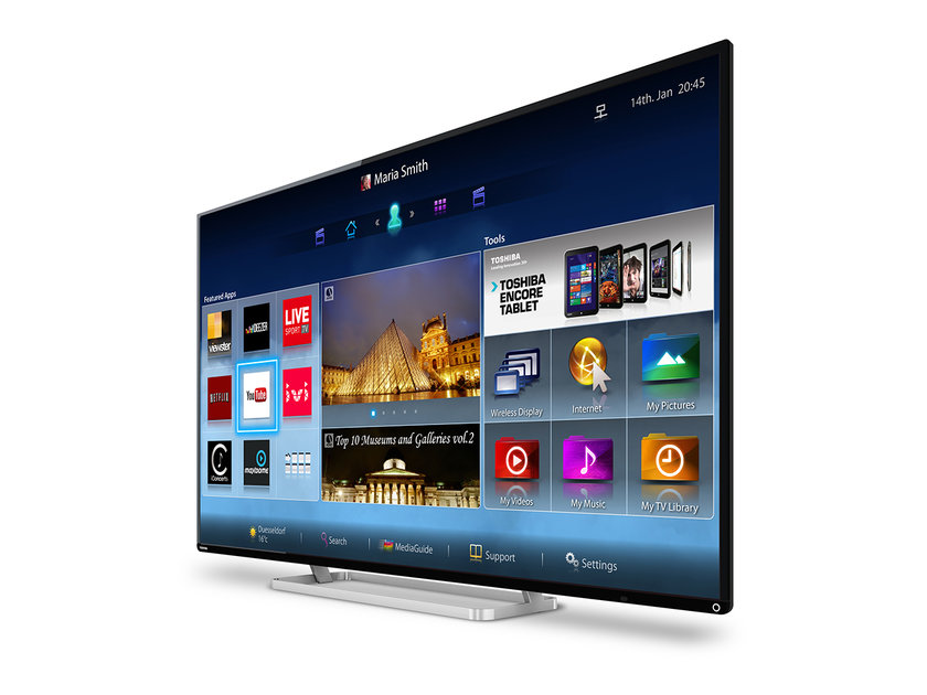 Toshiba HD TV 2014 range refresh: Faster next-gen Smart TV join
