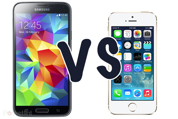 iphone 5 vs galaxy s5 samsung galaxy s5 rate monitor vs iphone 5s 8889