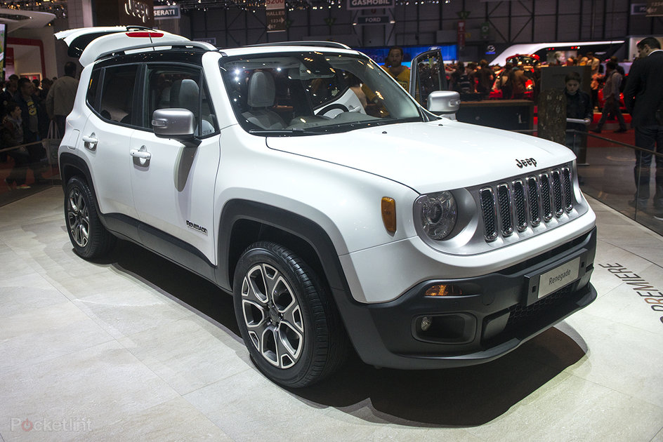 jeep renegade pictures and eyes on fiat merger brings new 4x4 pocket lint. Black Bedroom Furniture Sets. Home Design Ideas