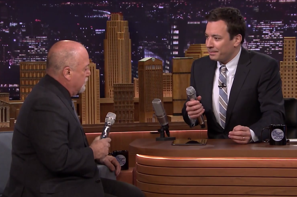 Jimmy Fallon and Billy Joel sing 'The Lion Sleeps Tonight