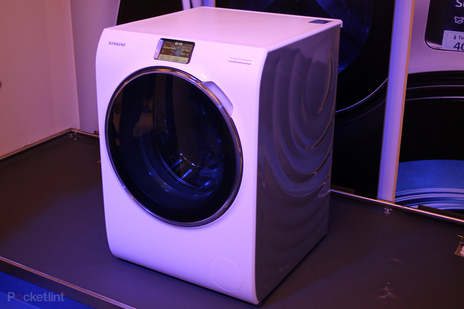 Samsung Ww9000 Smart Washing Machine Offers Full Lcd