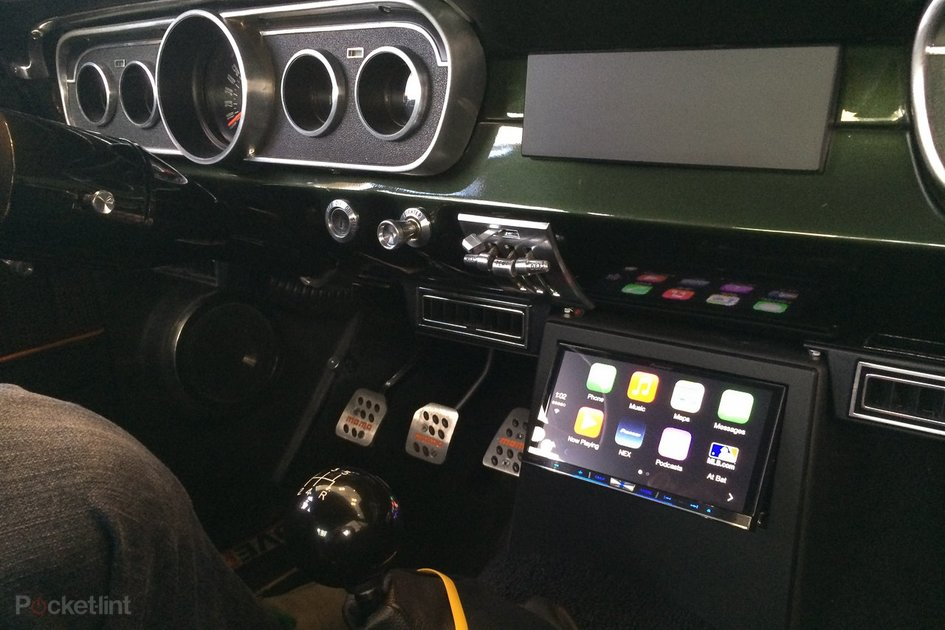 Classic 1965 Mustang Gets Pioneer Apple Carplay Treatment We R