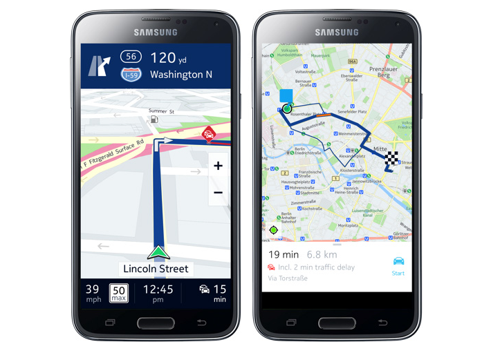 Nokia Here to launch on Android as Samsung Galaxy ...