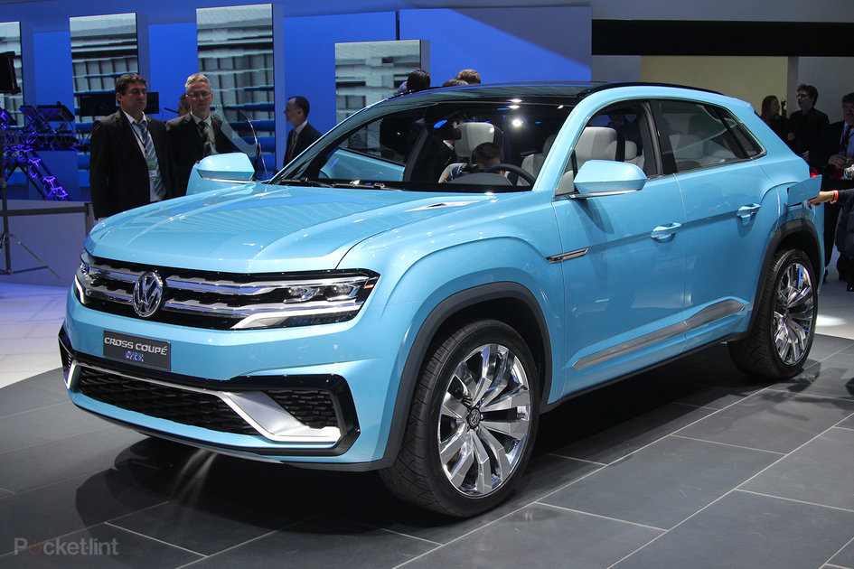 Volkswagen Cross Coupe GTE concept: The Tiguan from the future