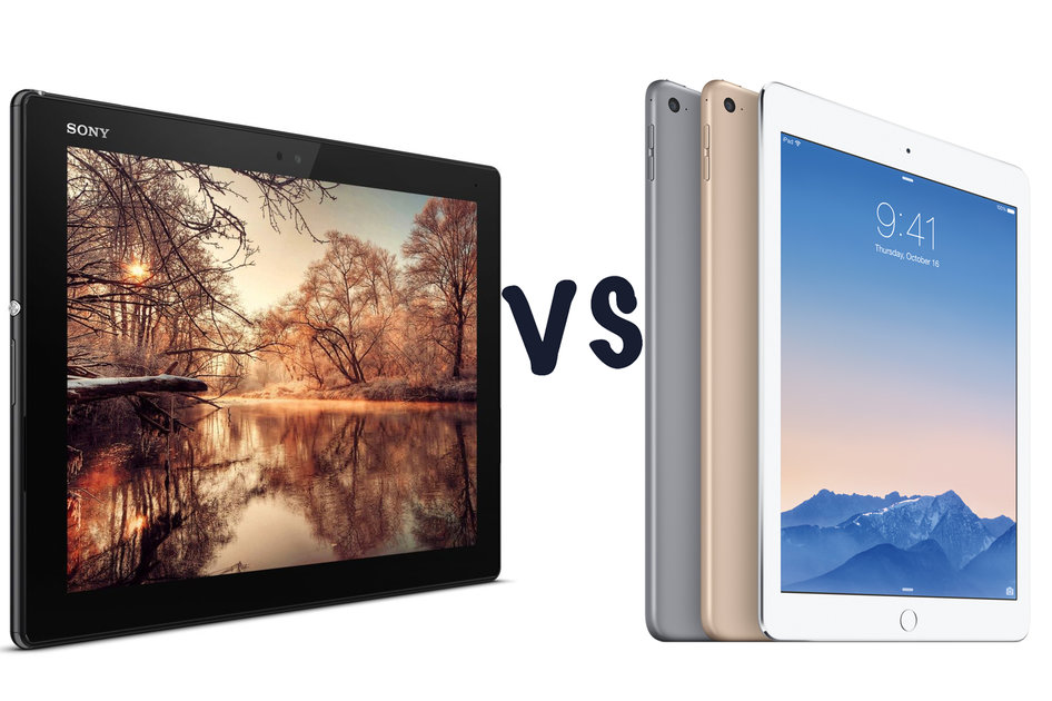 Sony Xperia Z4 Tablet Vs Apple Ipad Air 2 Whats The Difference