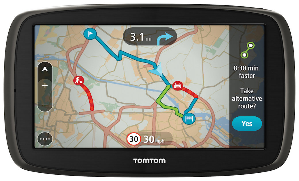 tomtom announces four new go satnavs offering mydrive support -