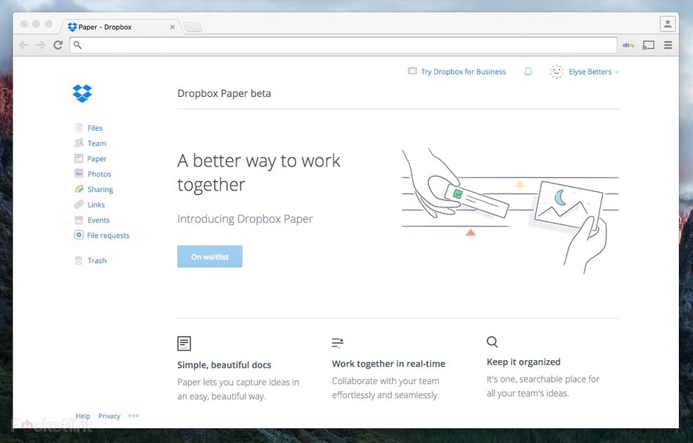 Dropbox Paper is a Google Docs-like text editor that doubles as a chat room - Pocket-lint