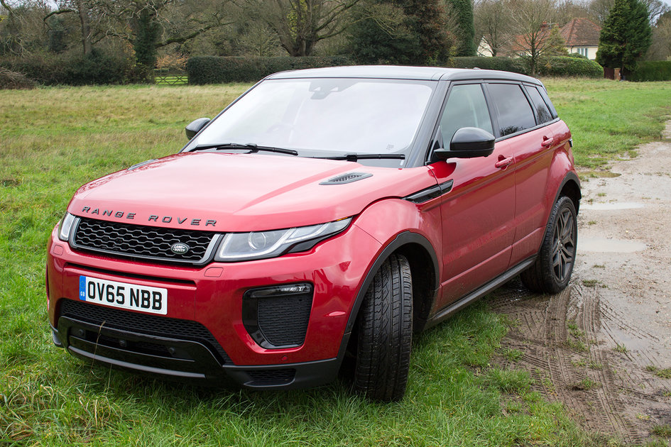 range rover evoque 2016 review pushing design and performance further pocket lint. Black Bedroom Furniture Sets. Home Design Ideas