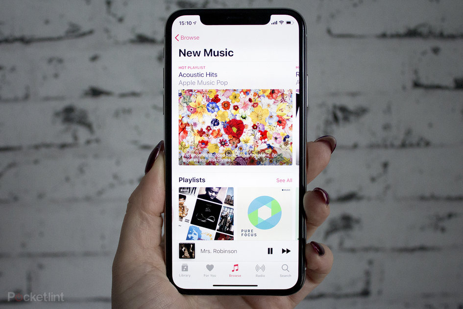 apple music listening to not updating