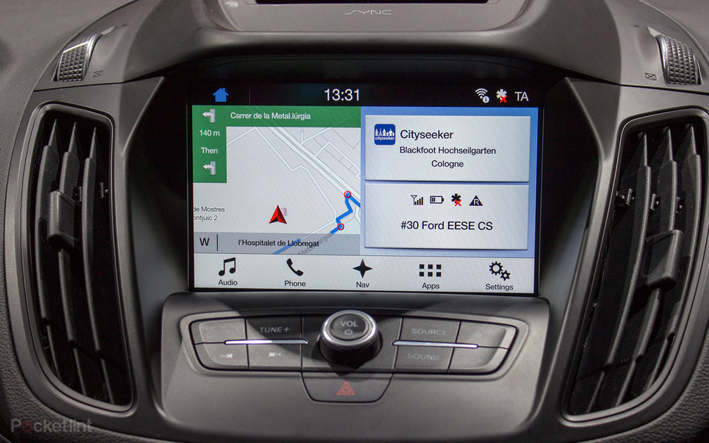 ford sync 3 preview apple carplay android auto complete. Black Bedroom Furniture Sets. Home Design Ideas