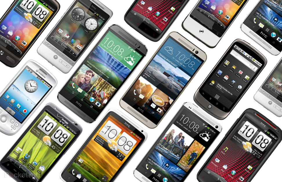 HTC through the ages: A brief history of HTC's Android handsets - Pocket-lint