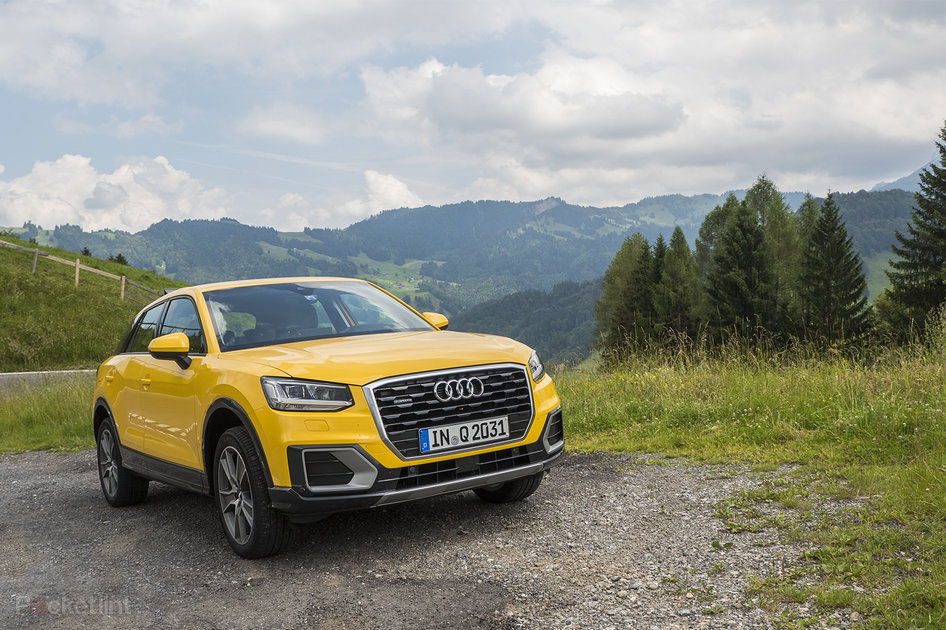 audi q2 review the single minded suv. Black Bedroom Furniture Sets. Home Design Ideas