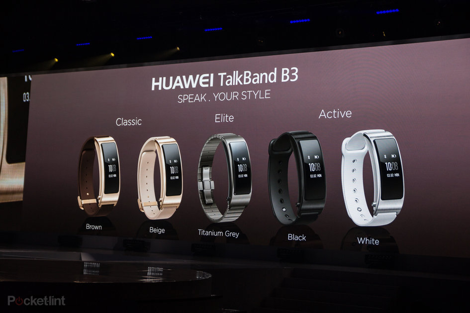 Huawei TalkBand B3 added to company's wearables line-up - Pocket-lint