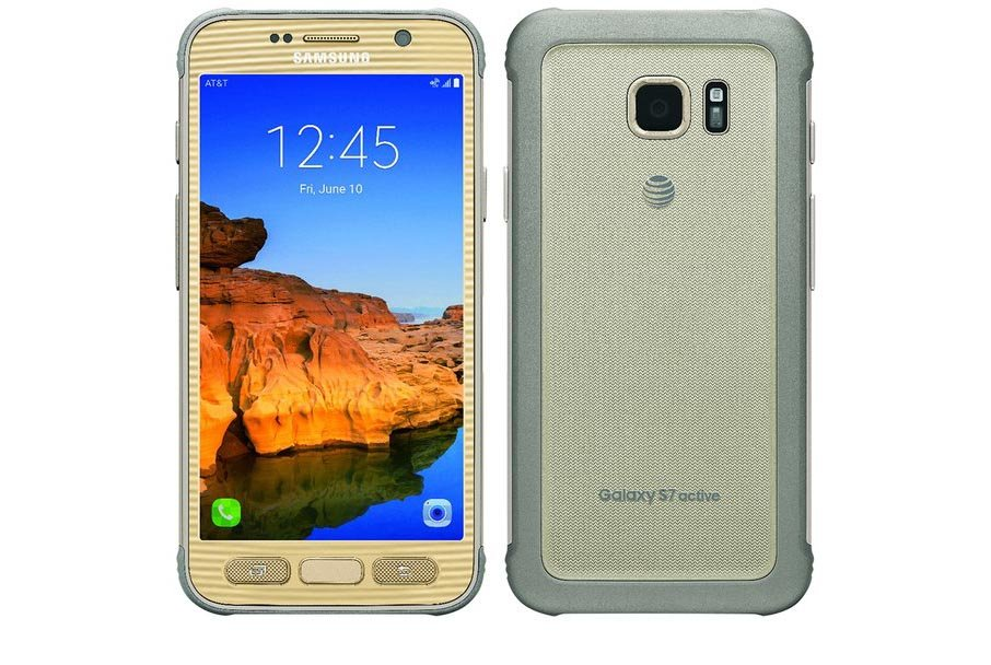 This is the Samsung Galaxy S7 Active and it's hardly in camouflage - Pocket-lint