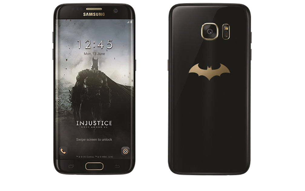 Batman Samsung Galaxy S7 edge Injustice Edition is official, comes with black Gear VR - Pocket-lint