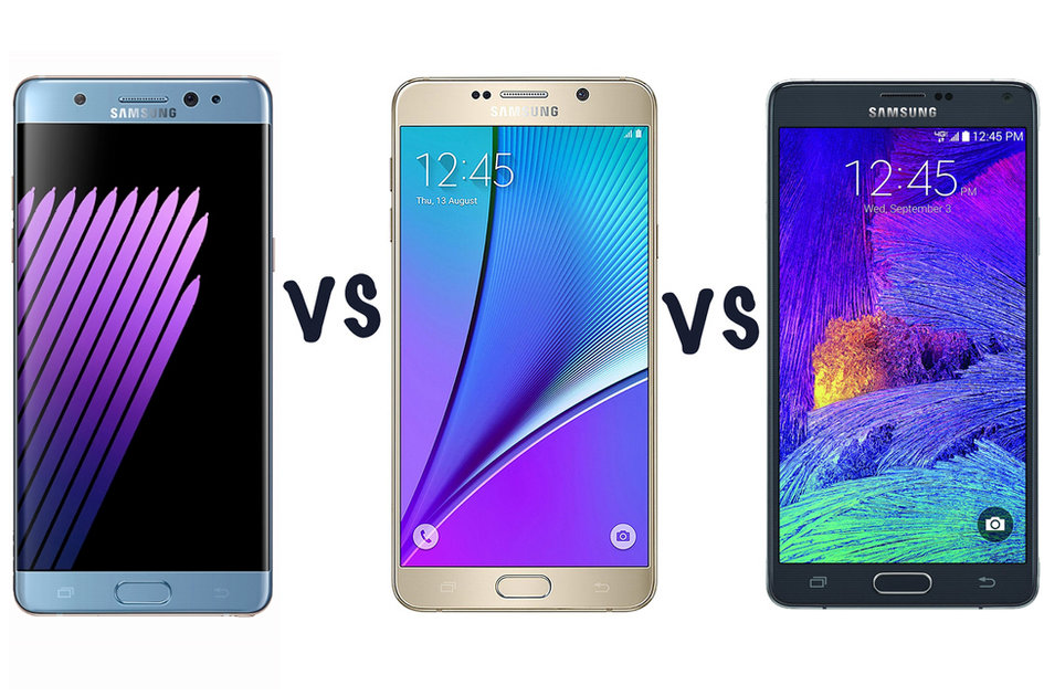 samsung galaxy note 7 vs note 4 what s the difference and should i upgrade samsung galaxy note 7 vs note 5 vs note 4 what s the difference pocket lint