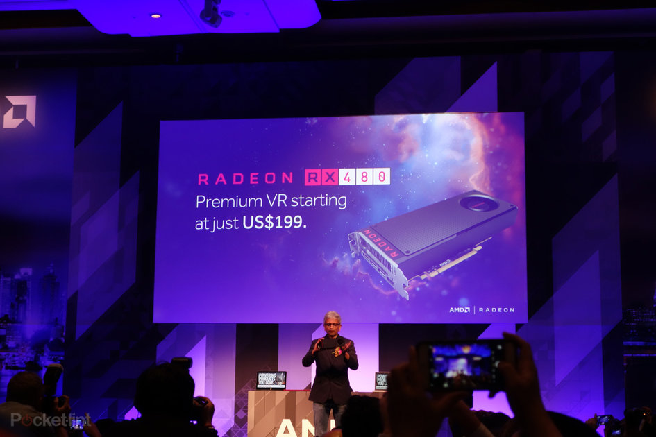 AMD Radeon RX 480 graphics card makes VR much more affordable - Pocket-lint