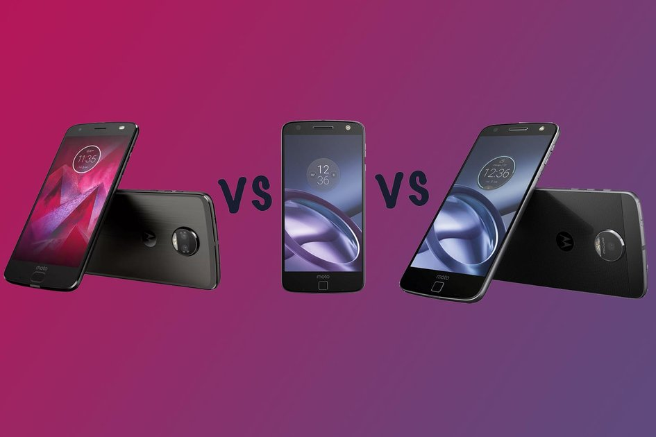 Motorola Moto Z2 Force vs Moto Z vs Moto Z Force: What's the difference? - Pocket-lint