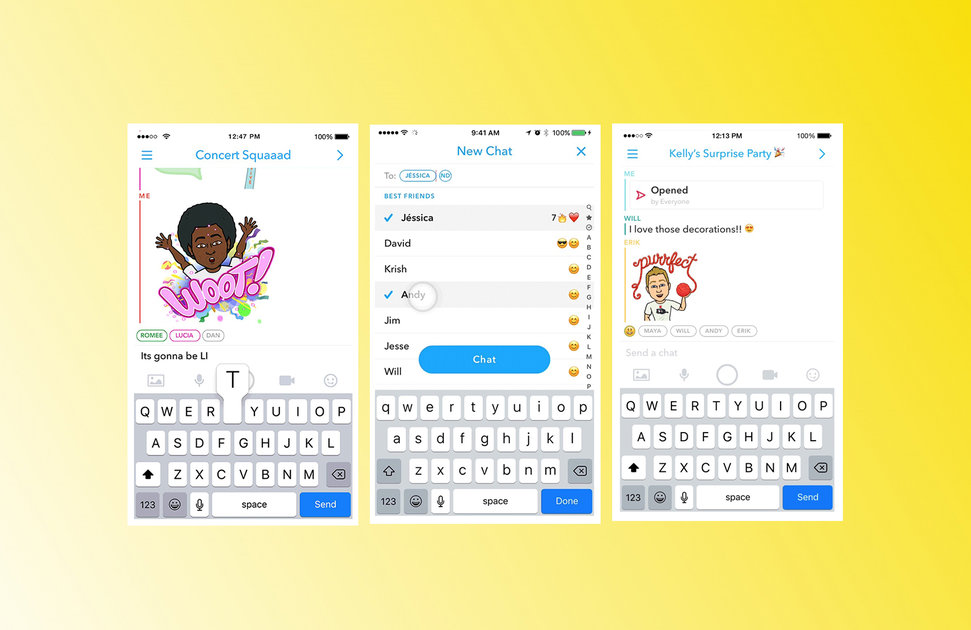 Snapchat groups heres how to use the new group chat feature snapchat groups heres how to use the new group chat feature pocket lint ccuart Choice Image
