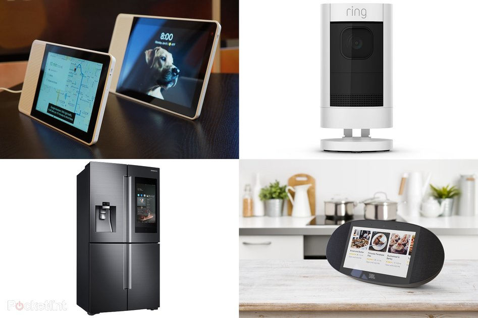 best smart home devices of ces 2018 amazon alexa and google assistant everywhere pocket lint. Black Bedroom Furniture Sets. Home Design Ideas
