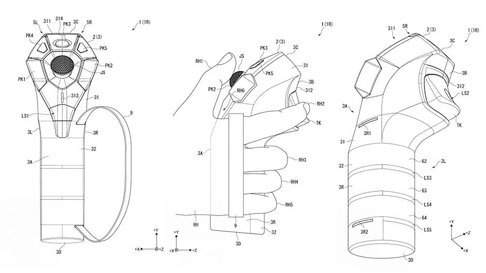 New Psvr Controllers Spotted In Sony Patent Filings