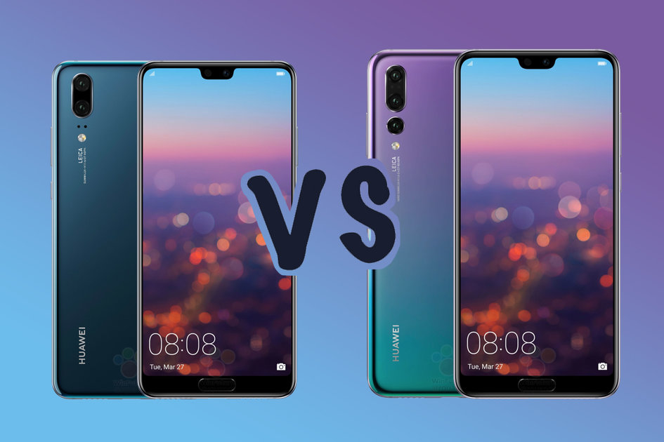 Huawei P20 Vs P20 Pro What S The Difference Pocket Lint