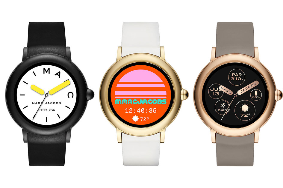 2e999123b Marc Jacobs brings touchscreen control for the first time to Riley  smartwatch