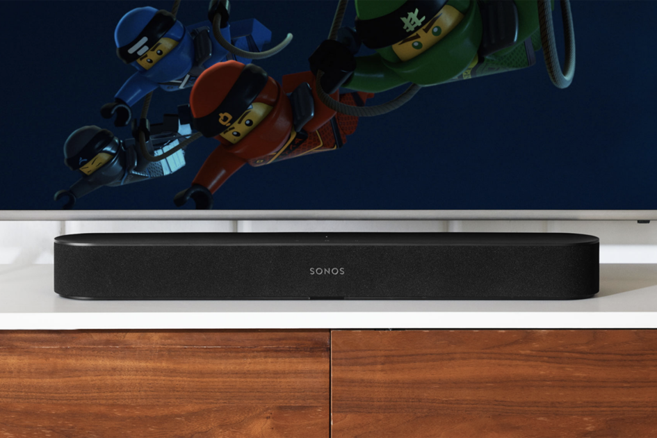 Sonos beam is the smaller soundbar for your living room alexa and airplay 2 from launch for Best soundbar for large living room