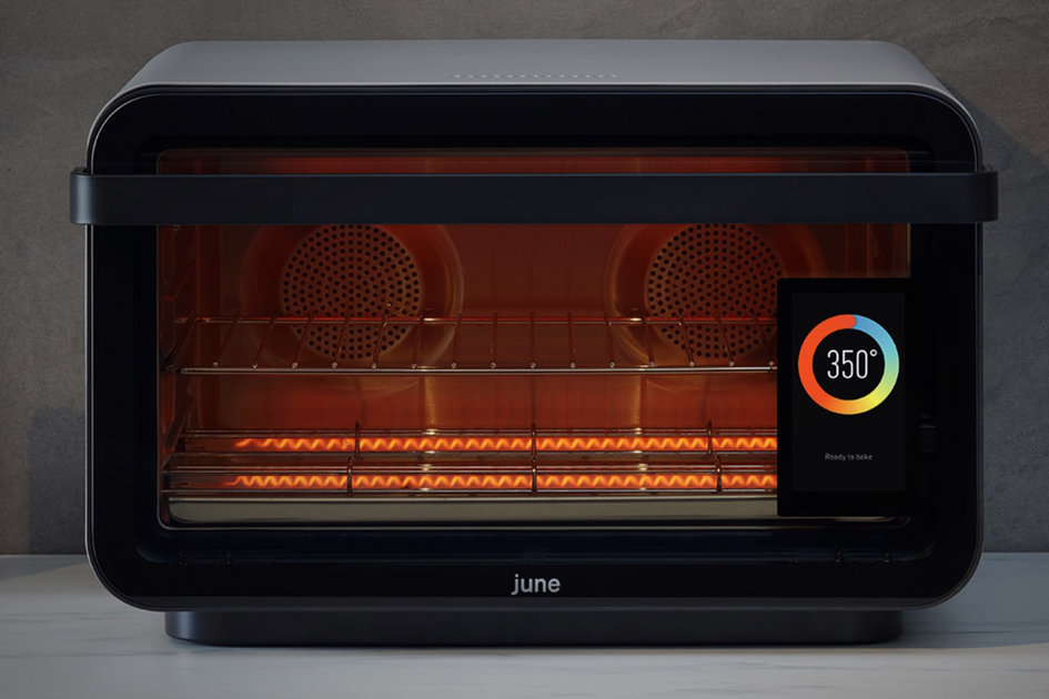 High Tech Smart Oven Check Out This June Countertop Oven