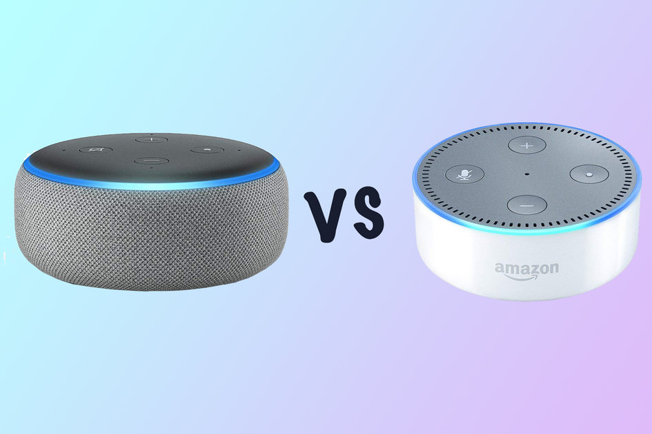 new amazon echo dot vs old echo dot what 39 s the difference. Black Bedroom Furniture Sets. Home Design Ideas
